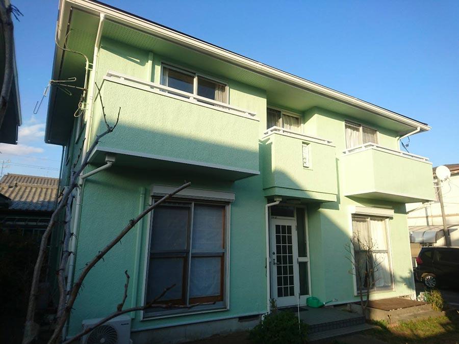 前橋市箱田町  外壁屋根塗装工事完工