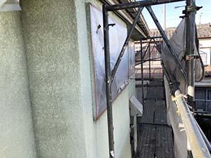 前橋市箱田町 外壁屋根塗装 ビニール養生