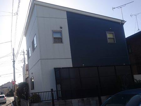 高崎市上中居町 屋根外壁塗装施工事後
