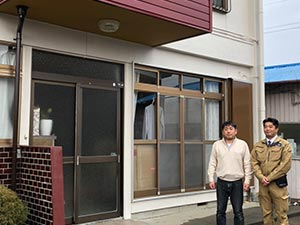 桐生市相生町 屋上フロン防水工事とリシン外壁塗装