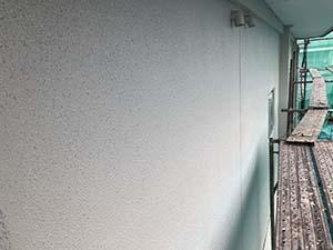 桐生市相生町 外壁上塗り