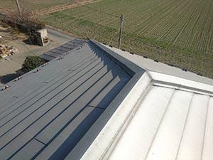 玉村町 ガルバニウム鋼板屋根