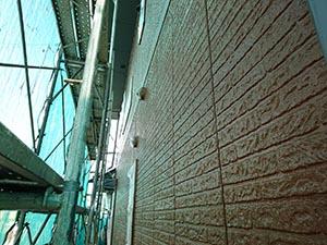 高崎市新町  外壁中塗り