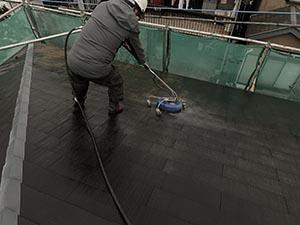 高崎市新町 サイディング外壁とスレート屋根塗装