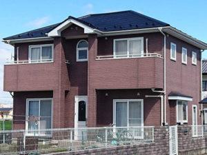 玉村町 ガルバニウム鋼板屋根塗装後