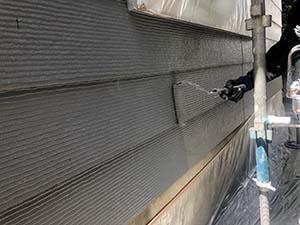 前橋市天川大島町 外壁上塗り