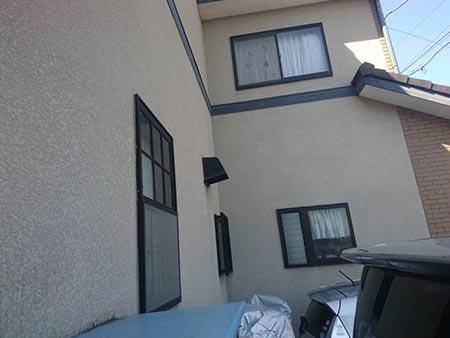高崎市中居町 モルタル外壁塗装前