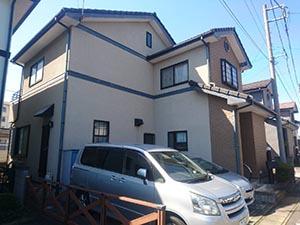 高崎市中居町 外壁屋根塗装 施工事例