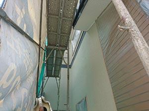 高崎市中居町 外壁塗装 上塗り