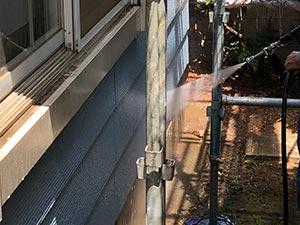 前橋市天川原町屋根外壁塗装 洗浄
