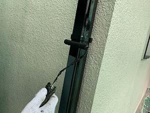 高崎市中居町 雨樋塗装