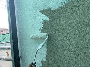 高崎市中居町 外壁下塗り