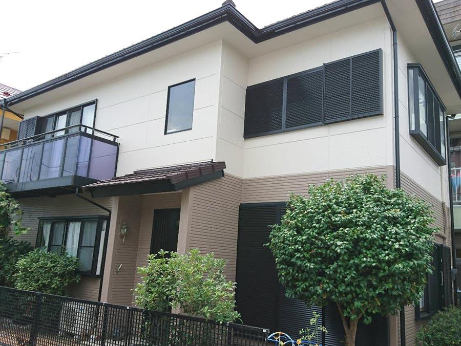 高崎市東町 屋根外壁塗装 施工事例