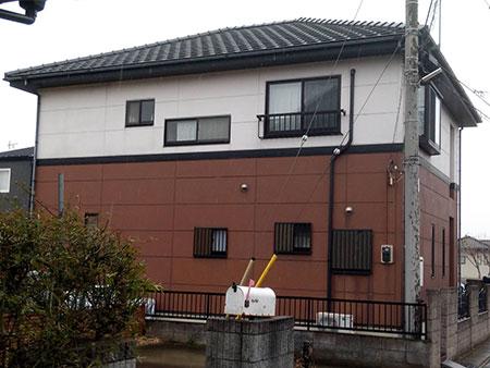 前橋市粕川町 外壁塗装施工前