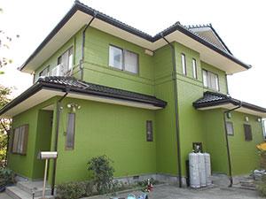 渋川市 外壁屋根塗装 塗装後