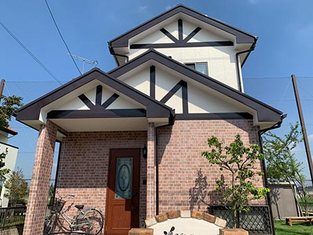 伊勢崎市茂呂町 外壁屋根塗装 施工後