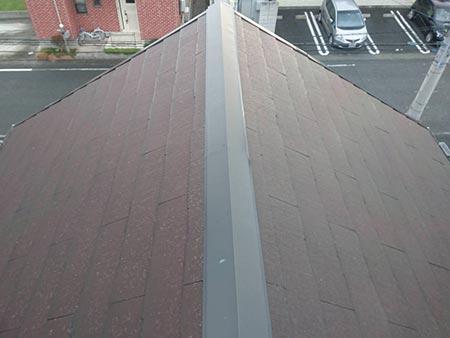 伊勢崎市茂呂町 外壁屋根塗装 施工前
