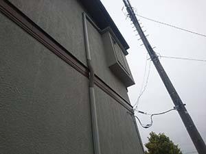 玉村町 モルタル外壁スタッコ仕上げ 色褪せ