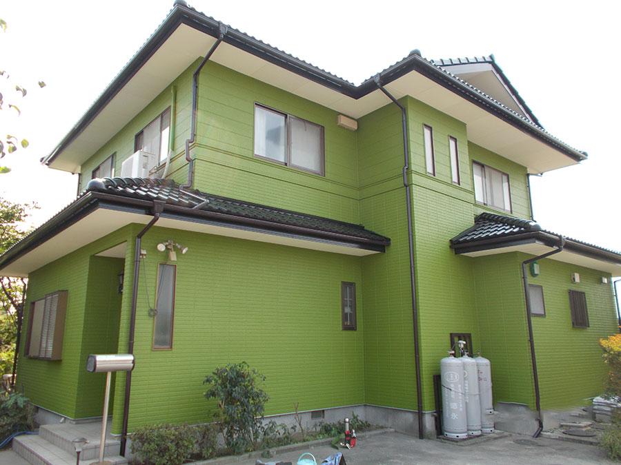 渋川市 外壁屋根塗装