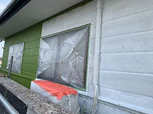 渋川市 外壁中塗り