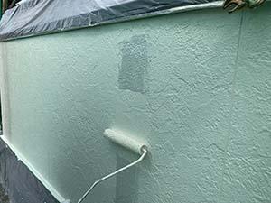 伊勢崎市茂呂町 外壁中塗り