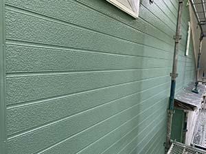 嬬恋村(北軽井沢)別荘 外壁中塗り
