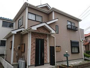 前橋市天川大島町 外壁と屋根塗装