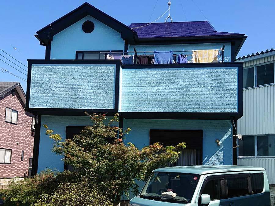 前橋市天川大島町 外壁・屋根塗装