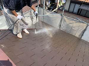 前橋市天川大島町 屋根洗浄