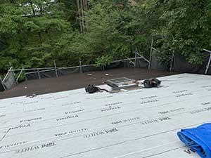 嬬恋村 別荘 屋根葺き替え工事