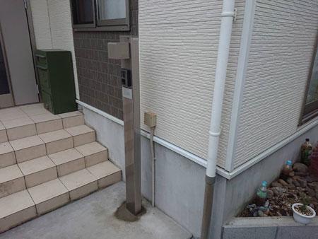 前橋市六供町 サイディング外壁補修後