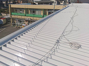 前橋市 マンションのセッパン屋根塗装