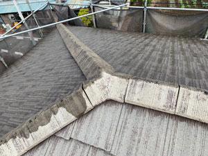 前橋市亀里町屋根塗装 下塗り2回目