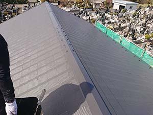 玉村町 コロニアル屋根塗装完成