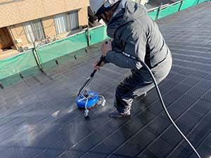 玉村町 外壁屋根アポリテック塗装 屋根洗浄