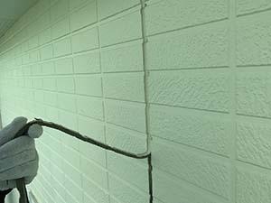 玉村町 外壁コーキング打ち替え 既存撤去