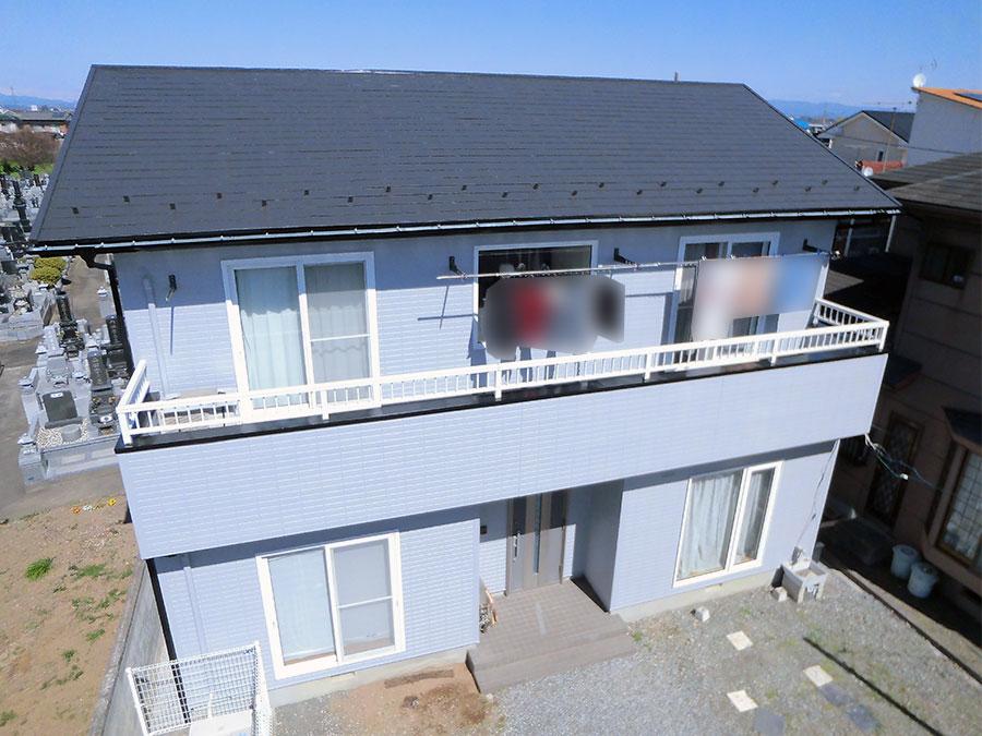 玉村町 屋根外壁アポリテック塗装 施工事例