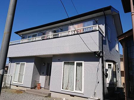 玉村町 屋根外壁アポリテック塗装 塗装後