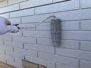 前橋市富士見町 外壁中塗り