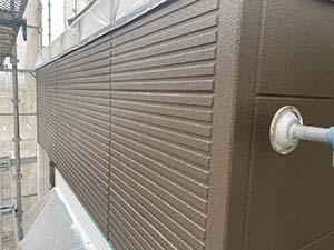 伊勢崎市富塚町 外壁上塗り1回目