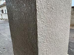 前橋市 駐車場柱補修 施工例