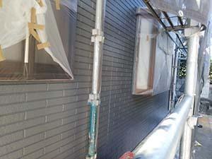 前橋市富士見町 外壁中塗り2回目
