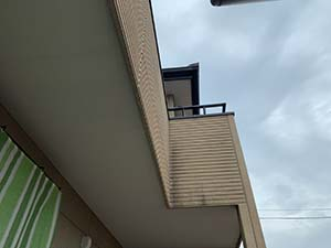 伊勢崎市富塚町 外壁屋根塗装 軒天