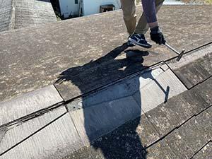伊勢崎市 屋根カバー工法 下地処理
