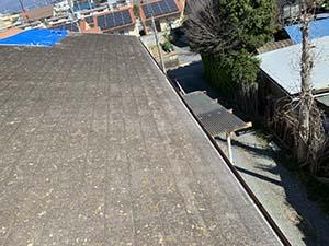 伊勢崎市 屋根カバー工法 施工前
