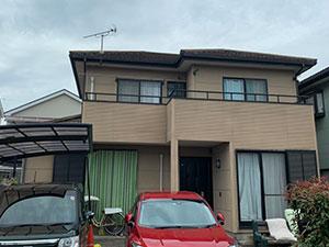 伊勢崎市富塚町 外壁屋根塗装