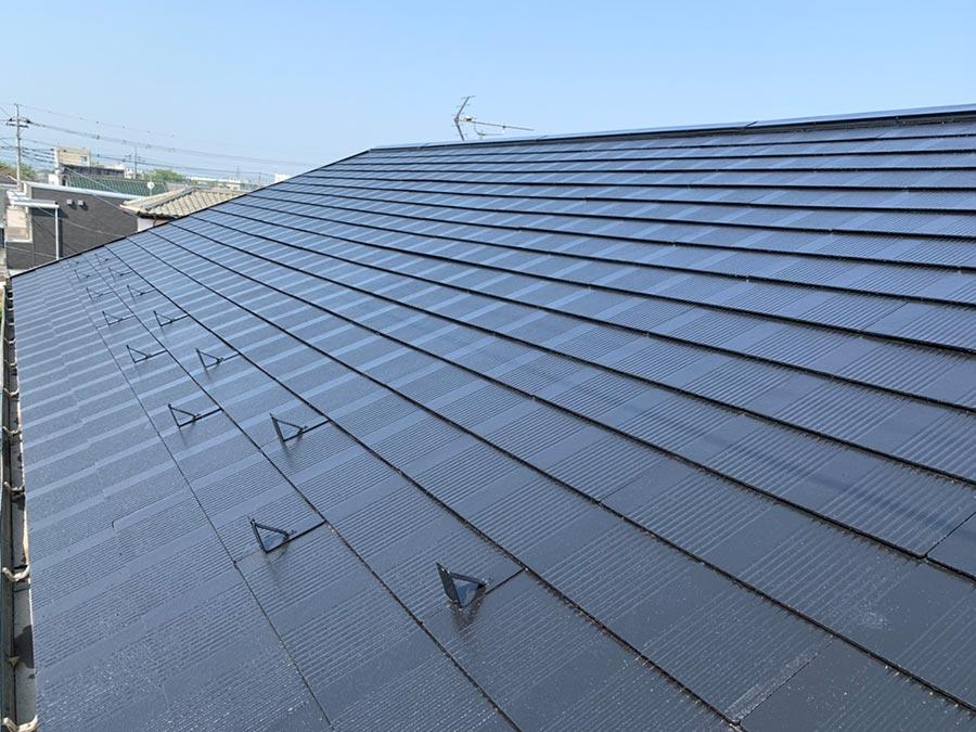 コロニアル屋根 塗り直し