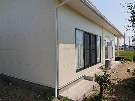 和モダン住宅 外壁塗装