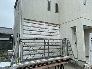 サイディング壁撤去