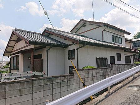 渋川市 外壁塗装 施工例